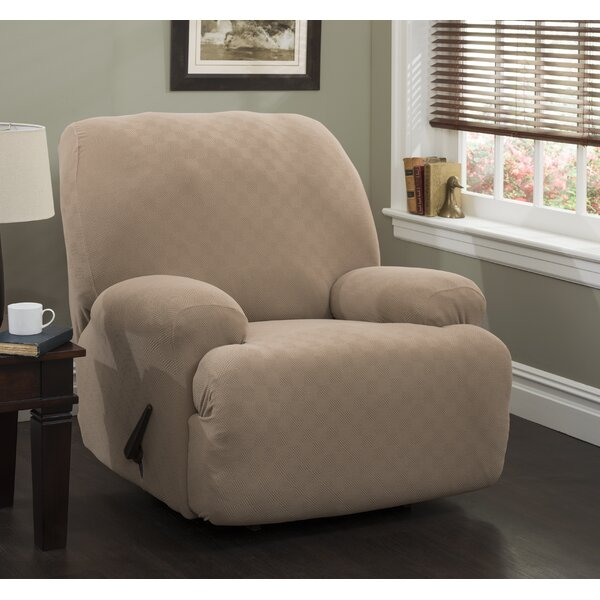 Jumbo Box Cushion Recliner Slipcover by Red Barrel Studio