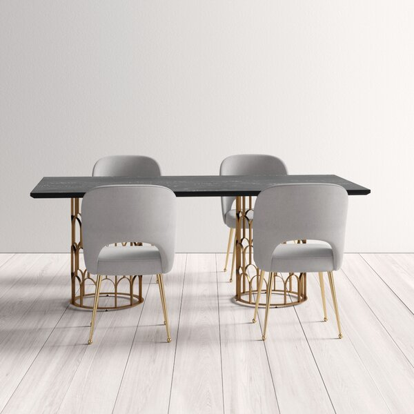 Lavine 5 Piece Dining Set by Everly Quinn Everly Quinn