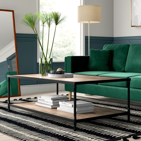 Hera Extendable Coffee Table With Tray Top By Mercury Row