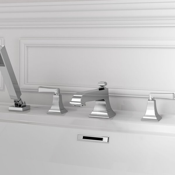 Town Square S Double Handle Deck Mounted Roman Tub Faucet Trim by American Standard American Standard
