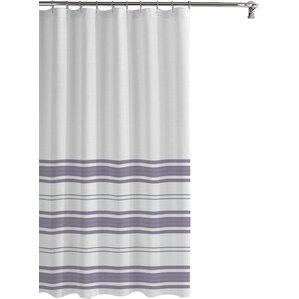 purple and grey shower curtain. Kimora Waterproof Printed Shower Curtain Set Modern Purple Curtains  AllModern