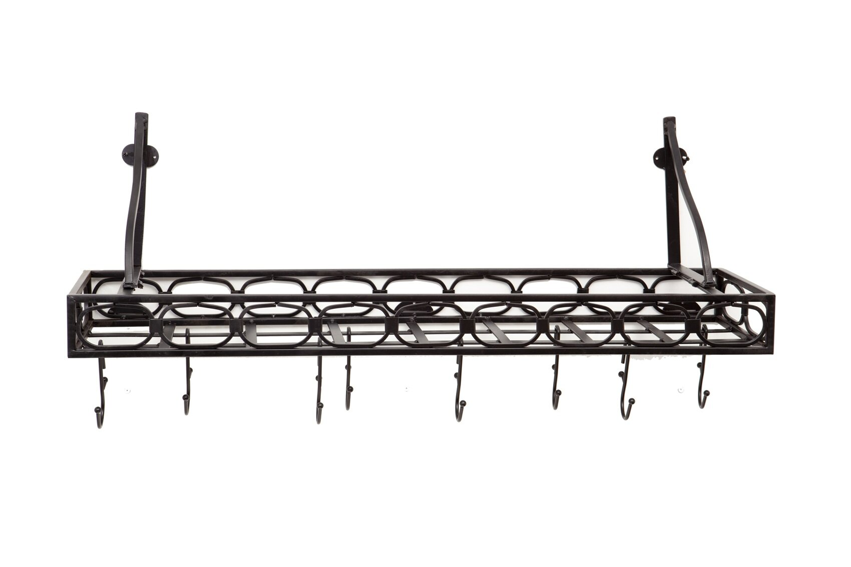 Old Dutch Wall Mounted Bookshelf Pot Rack Reviews