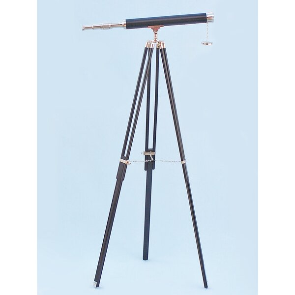 Floor Standing Leather Harbor Master Refractor Tel