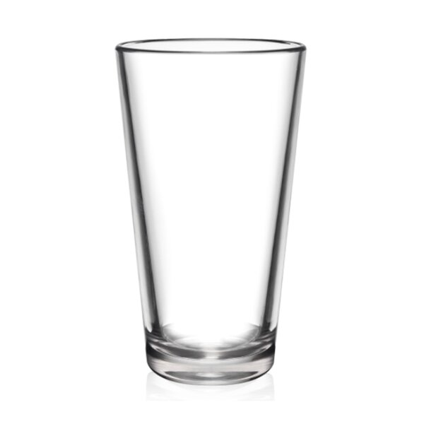 The Pint Unbreakable 16 oz. Pint Glasses (Set of 6) by BarLuxe