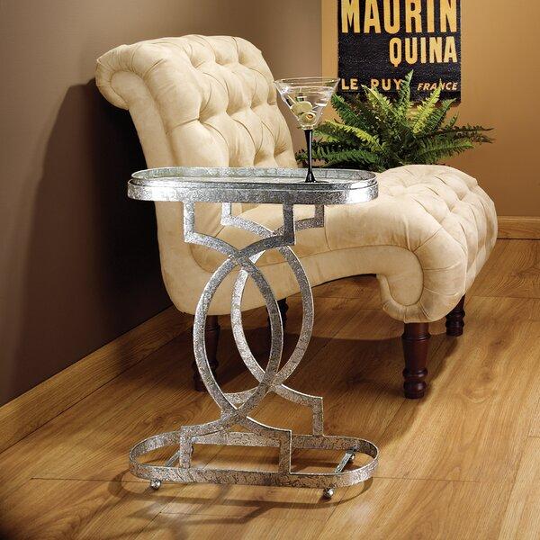 Deals Price Art Deco Petite Caddie Tray Table