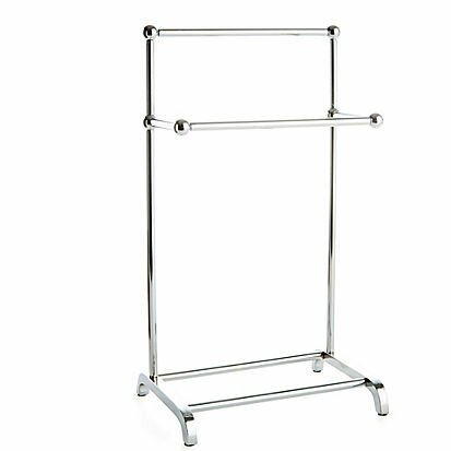 Middlebury Mini Two Tier Free Standing Towel Stand by Greyleigh