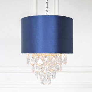 Blue shade pendants youll love wayfair save to idea board mozeypictures Image collections