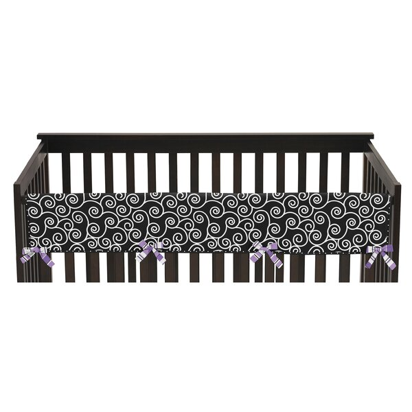 Kaylee Long Crib Rail Guard Cover by Sweet Jojo Designs