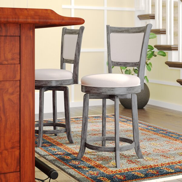 Topeka 24 Swivel Bar Stool by Darby Home Co