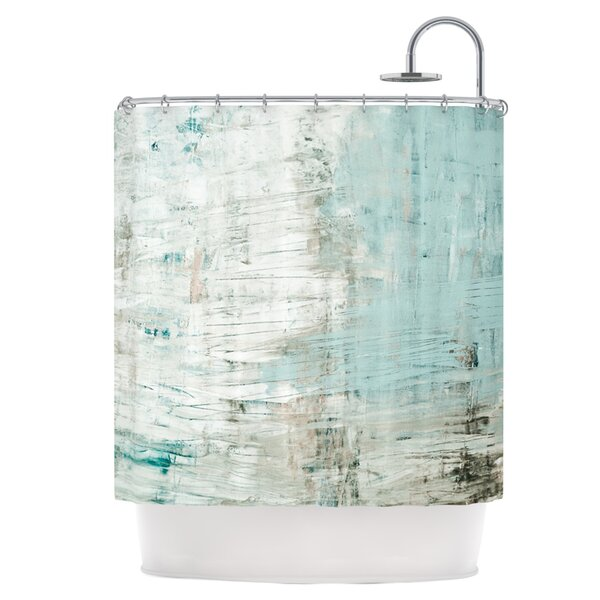 Green Shower Curtain by East Urban Home