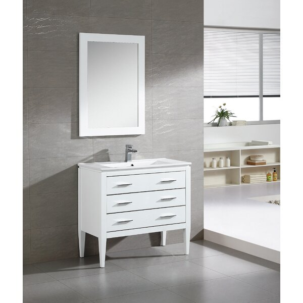 Bourdeau 35 Single Bathroom Vanity Set by Wrought Studio