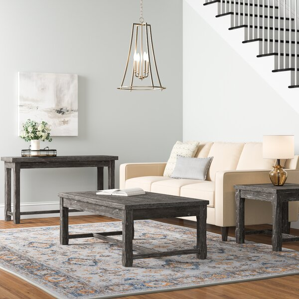 Dumfries 3 Piece Coffee Table Set by Three Posts Three Posts