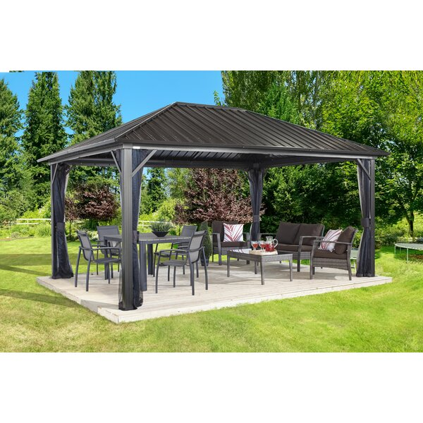 Genova Aluminum Patio Gazebo by Sojag