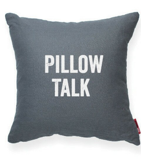 Expressive Pillow Talk Decorative Throw Pillow by Posh365