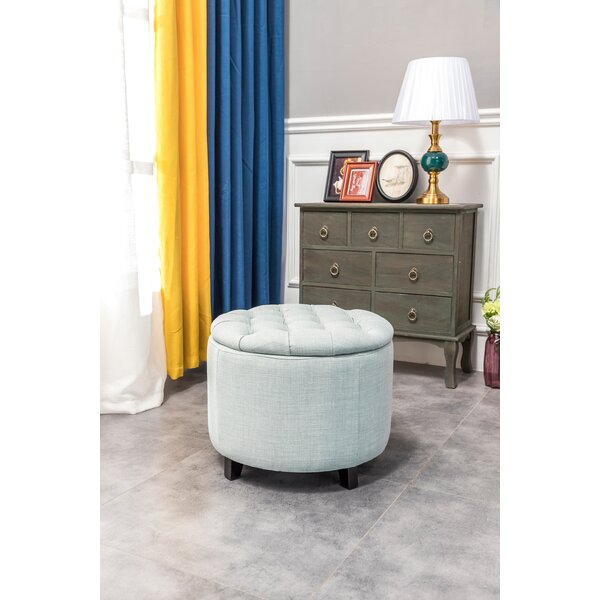 Araujo Tufted Storage Ottoman By Red Barrel Studio®