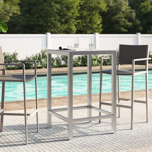 Royalston Glass Bar Table By Brayden Studio by Brayden Studio Wonderful