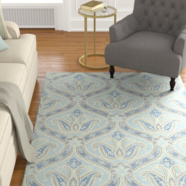 Mariemont Hand-Tufted Spa Area Rug by Alcott Hill