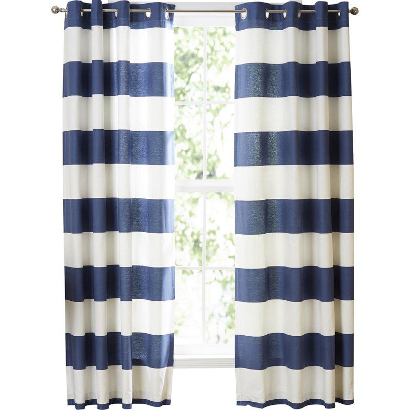 Nautica Cabana Stripe Curtain Panels U0026 Reviews   Wayfair