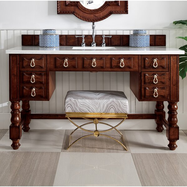 Elizabella 60 Makeup Table Vanity by Astoria Grand