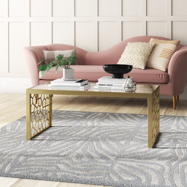 Juliette Sled Coffee Table by CosmoLiving by Cosmopolitan CosmoLiving by Cosmopolitan