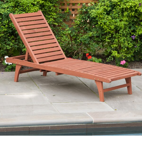 Reclining Chaise Lounge by Leisure Season Leisure Season