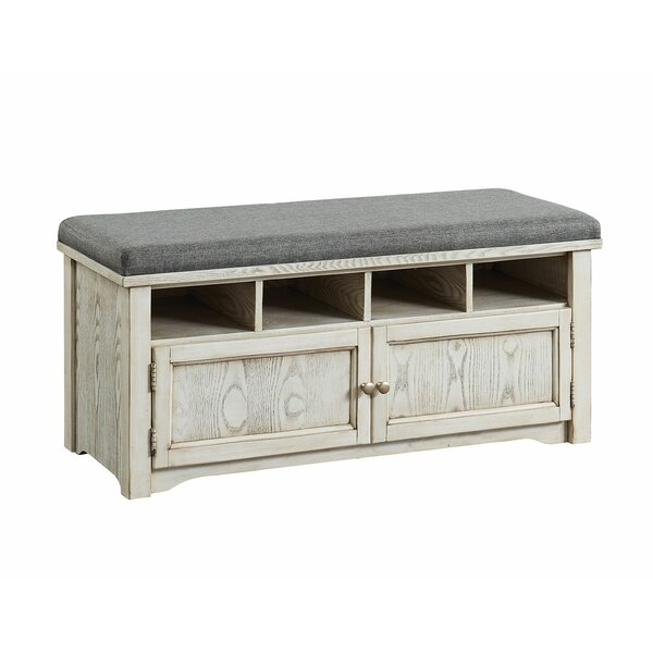 Pless Cubby Storage Bench By Darby Home Co