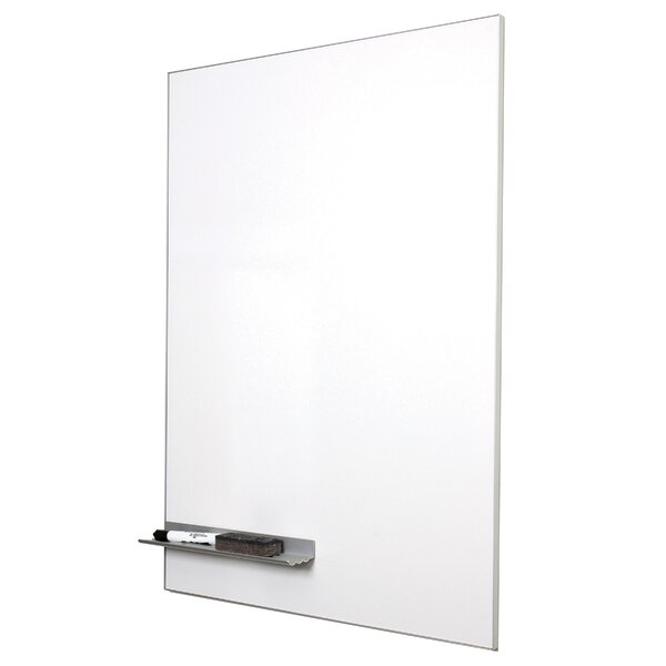 Minimalist Magnetic Wall Mounted Dry Erase Board by New York Blackboard