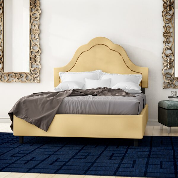 Amaker Upholstered Standard Bed by Willa Arlo Interiors