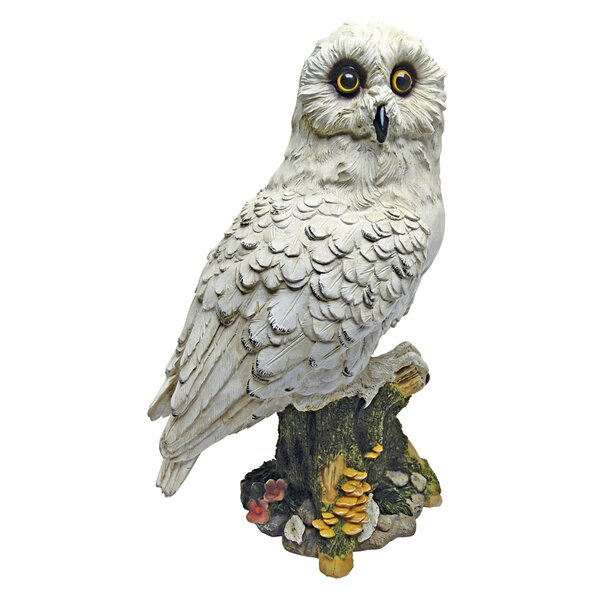 Mystical White Owl Statue by Design Toscano