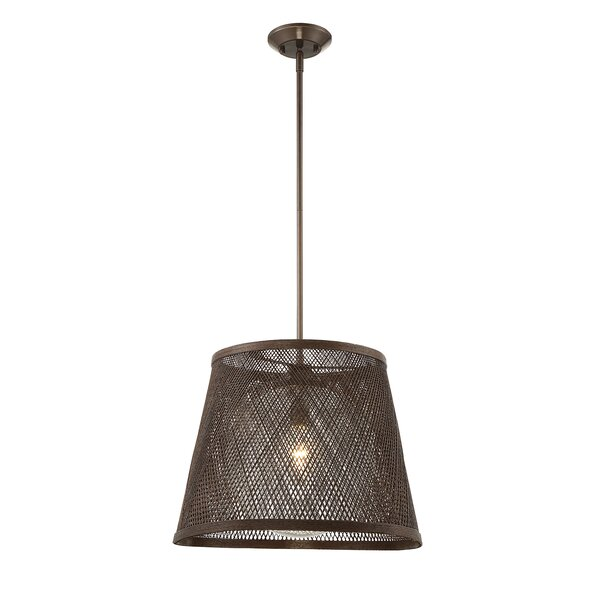 Sigala 1-Light Cone Pendant by Bay Isle Home
