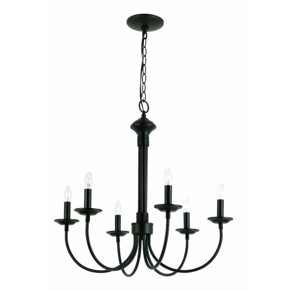 Shaylee 6-Light Chandelier by Laurel Foundry Moder