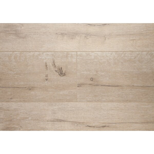 Manhattan 7.5 x 48 x 12.3mm Oak Laminate Flooring in Golden Ash by Chic Rugz