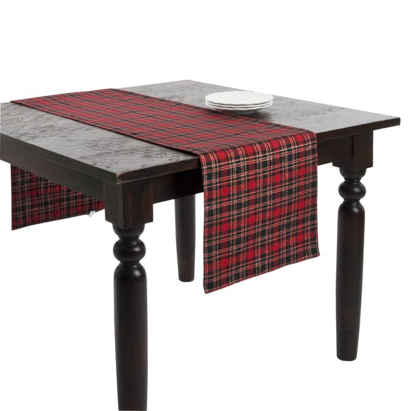Plaid Table Runner by The Holiday Aisle