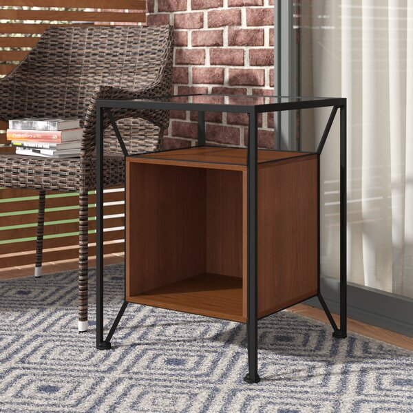 Goodspeed Record Storage End Table By Ivy Bronx