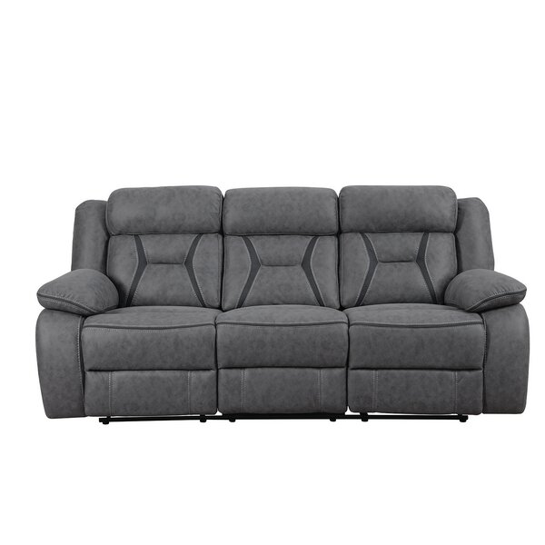 Top Brand Reingard Motion Reclining Sofa by Latitude Run by Latitude Run