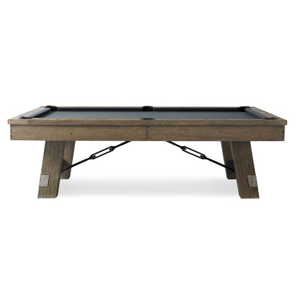 Isaac 7' Slate Pool Table by Plank & Hide