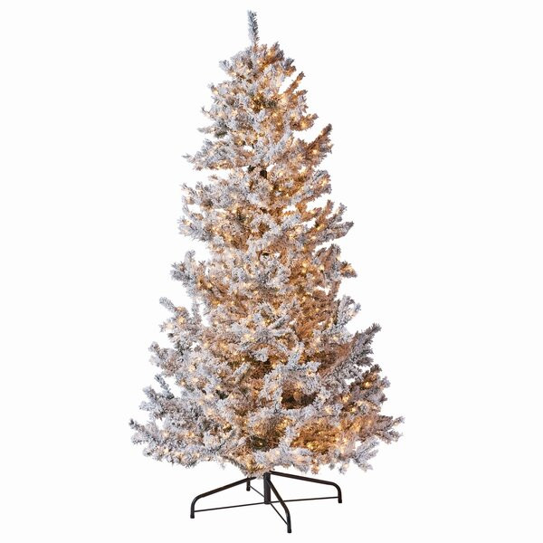 Wonderland 108 Frost Fir Trees Artificial Christmas Tree by The Holiday Aisle