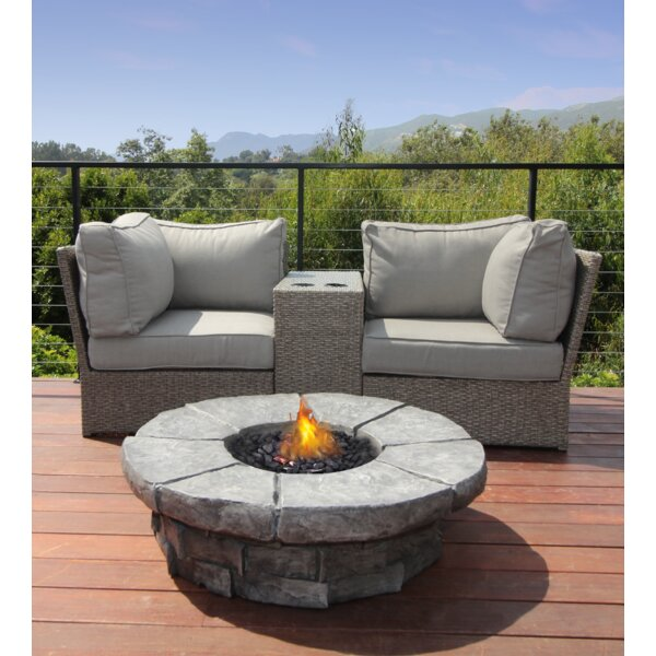 Almyra 4 Piece Seating Group with Cushions by Sol 72 Outdoor
