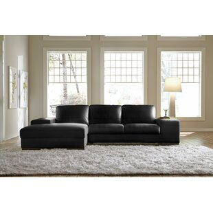 Sussex Leather Sectional by Lazzaro Leather