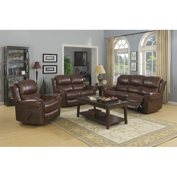 Rusnak Reclining Configurable Living Room Set by Charlton Home