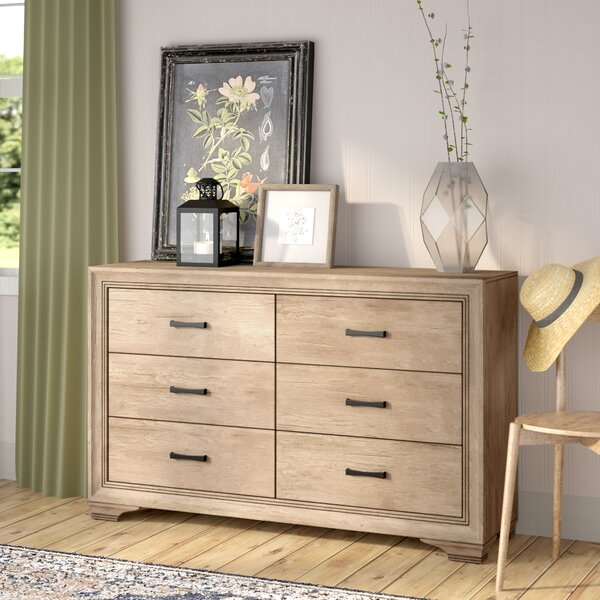 Payne 6 Drawer Double Dresser by Laurel Foundry Modern Farmhouse