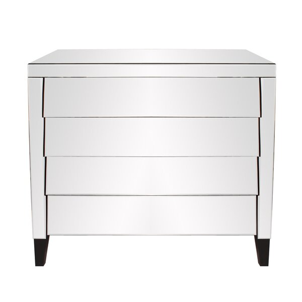 Adelyn 4 Drawer Dresser by Rosdorf Park