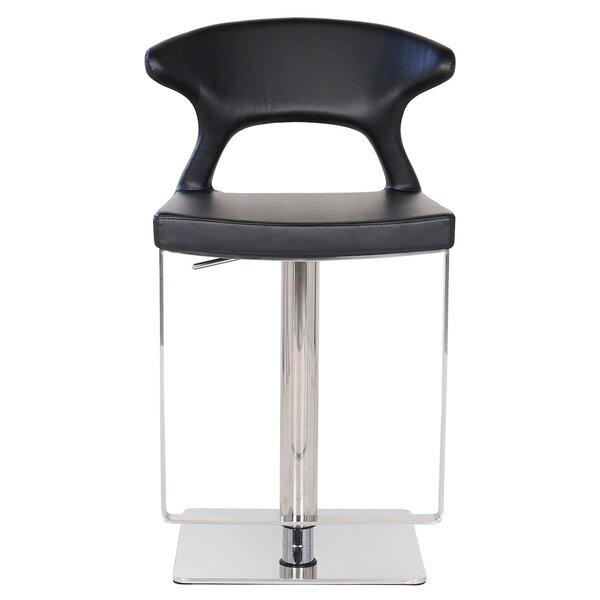 Hugo Hydraulic Adjustable Height Bar Stool by PoliVaz