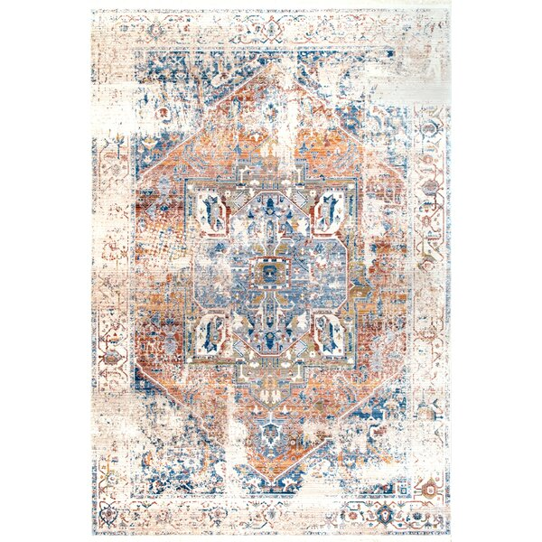 Hermann Ivory Area Rug by World Menagerie