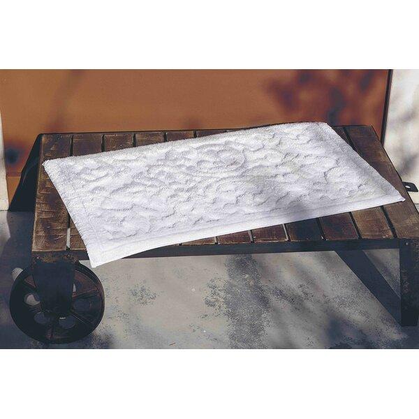 Ormside Barroco Rectangle Cotton Blend Non-Slip Bath Rug