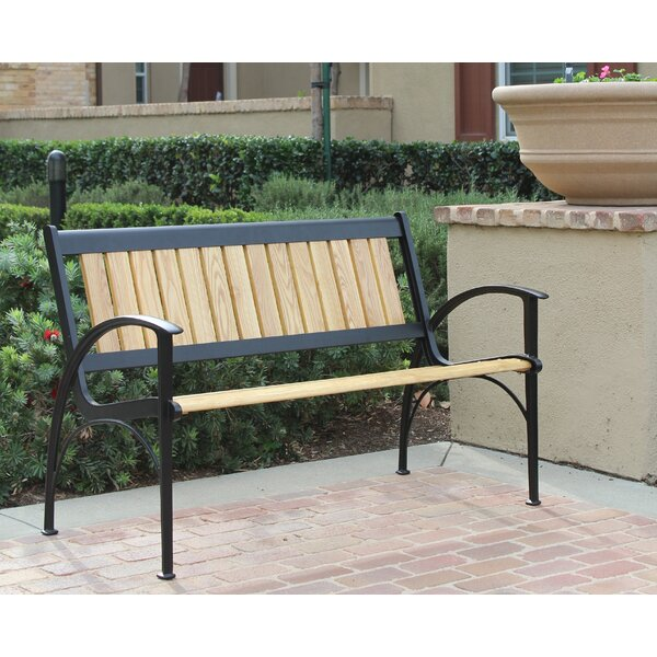 Layla Aluminium Garden Bench by Latitude Run