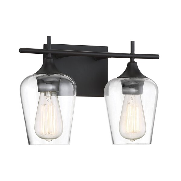 Staci 2-Light Vanity Light by Zipcode Design