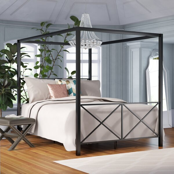Gilma Canopy Bed by Willa Arlo Interiors