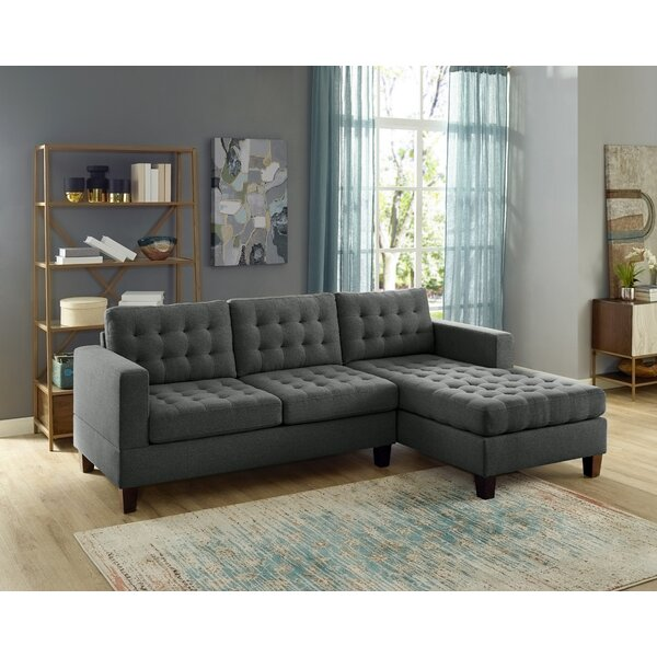 Buggs Reversible Sectional by Brayden Studio