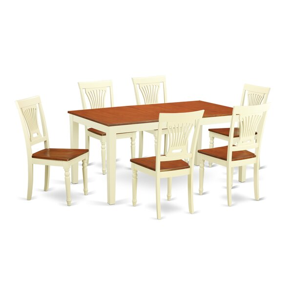 Napoli 7 Piece Dining Set by Wooden Importers